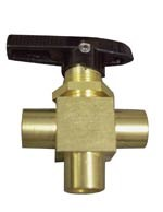 "VALVE 3-WAY CHEMICAL SELECTOR 1/8"" FPT"